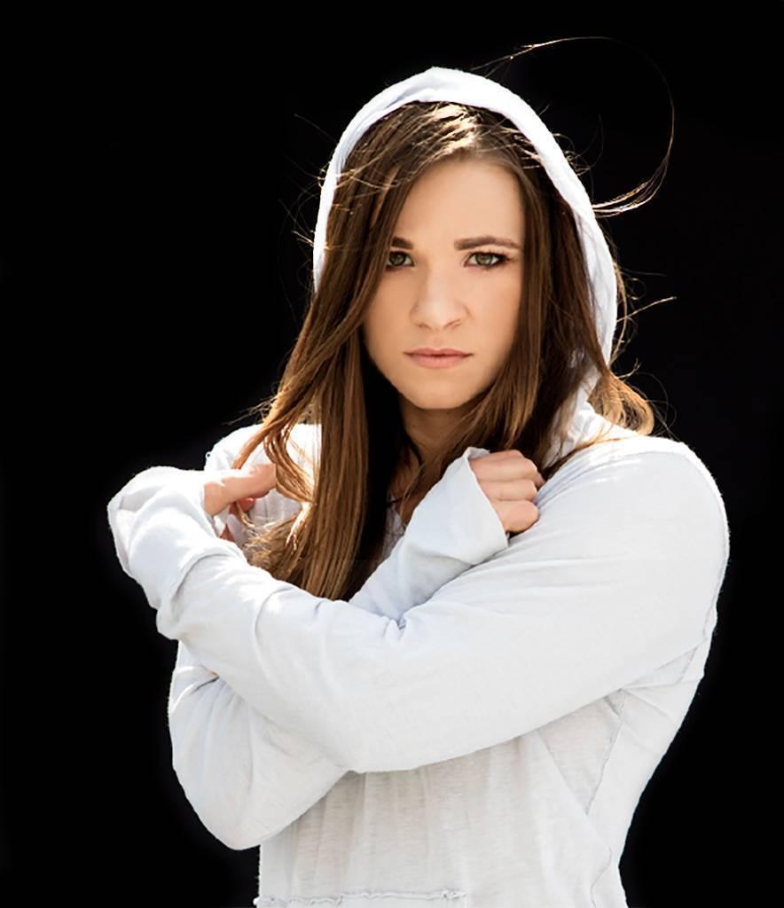 A close up photo of Oksana Masters.